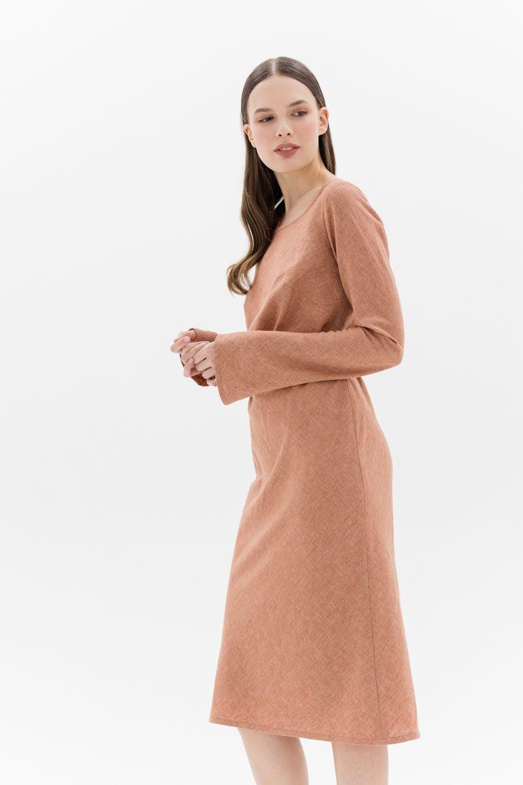 Льняное платье Belkafashion